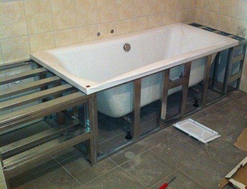 Установка гипсокартона своими руками в ванной