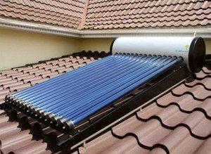 солнечные водонагреватели