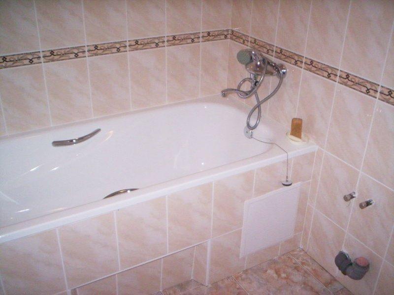 Облицовка ванной комнаты плиткой своими руками
