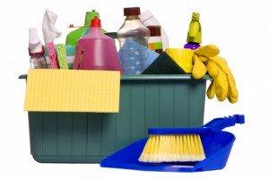 чистящие средства для мытья душевой кабины