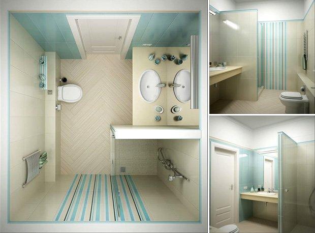 Душевая кабина своими руками в маленькой ванной фото
