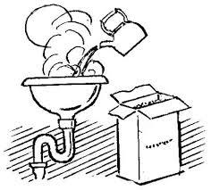 Нестандартные способы очистки раковины
