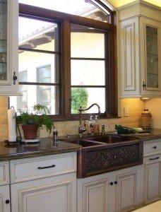 кухонная мойка из цветных металлов