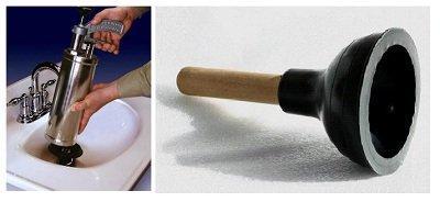 Как устранить засор в раковине