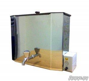 Подвесной водонагреватель с краном