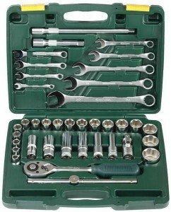 Инструменты для починки крана