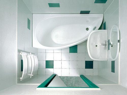 маленькая ванная без стиральной машинки