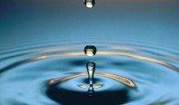 Падающая капля воды