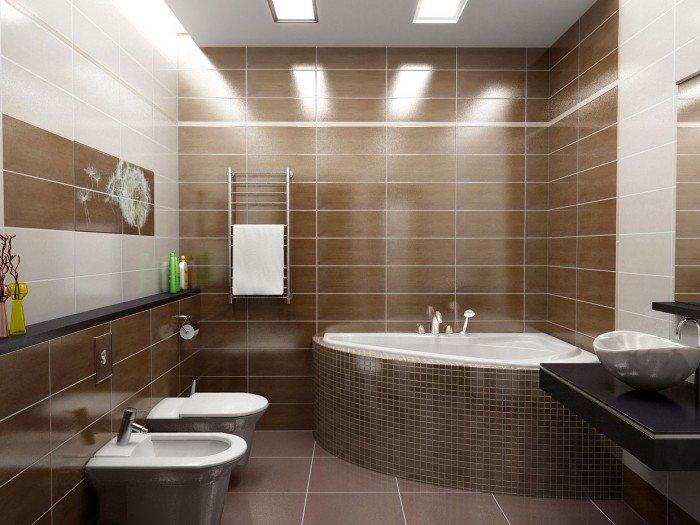Ванная комната в японском минимализме