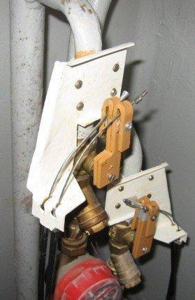 Смонтированный механизм привода