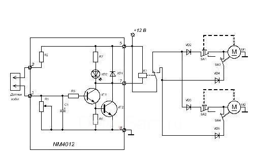 Усовершенствованная электрическая схема