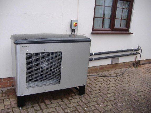Тепловая установка типа воздух-вода