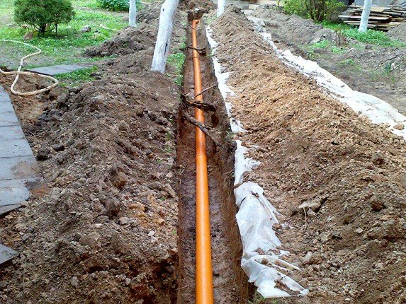 канализация наружная