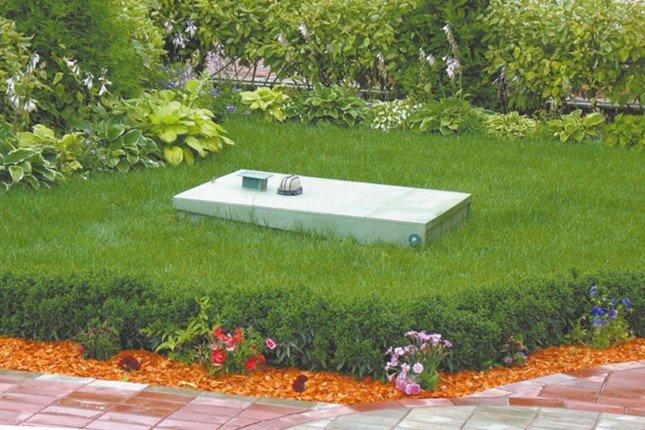 септик загородного дома