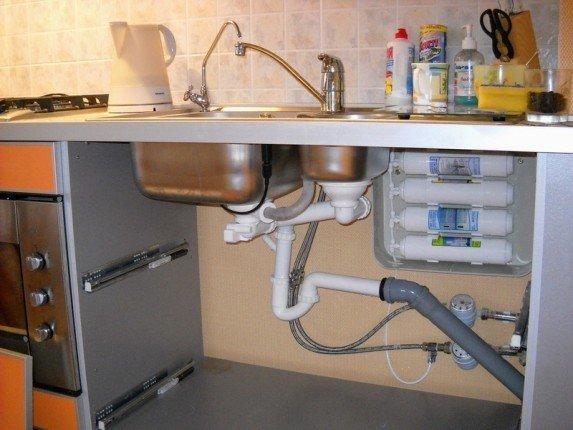 Фильтр воды под мойку