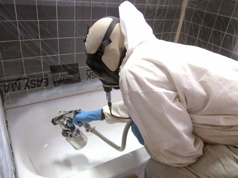 Ремонт акриловых ванн в домашних условиях своими руками 78