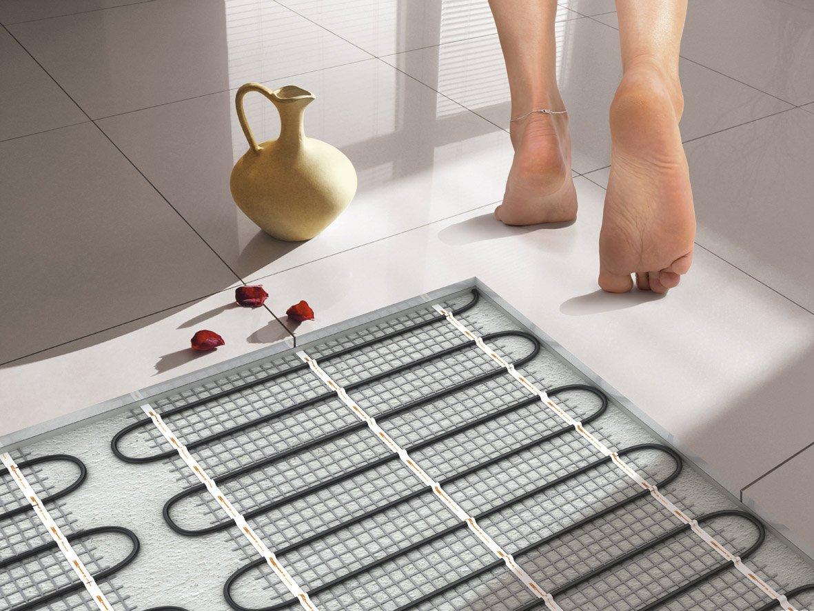Электрический теплый пол как сделать