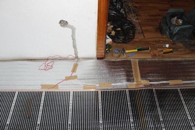 установка термостата теплого пола
