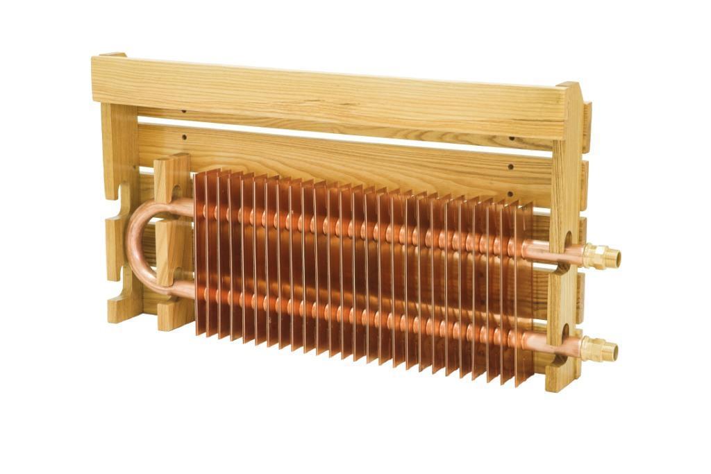 Медные радиаторы отопления: описание и характеристики