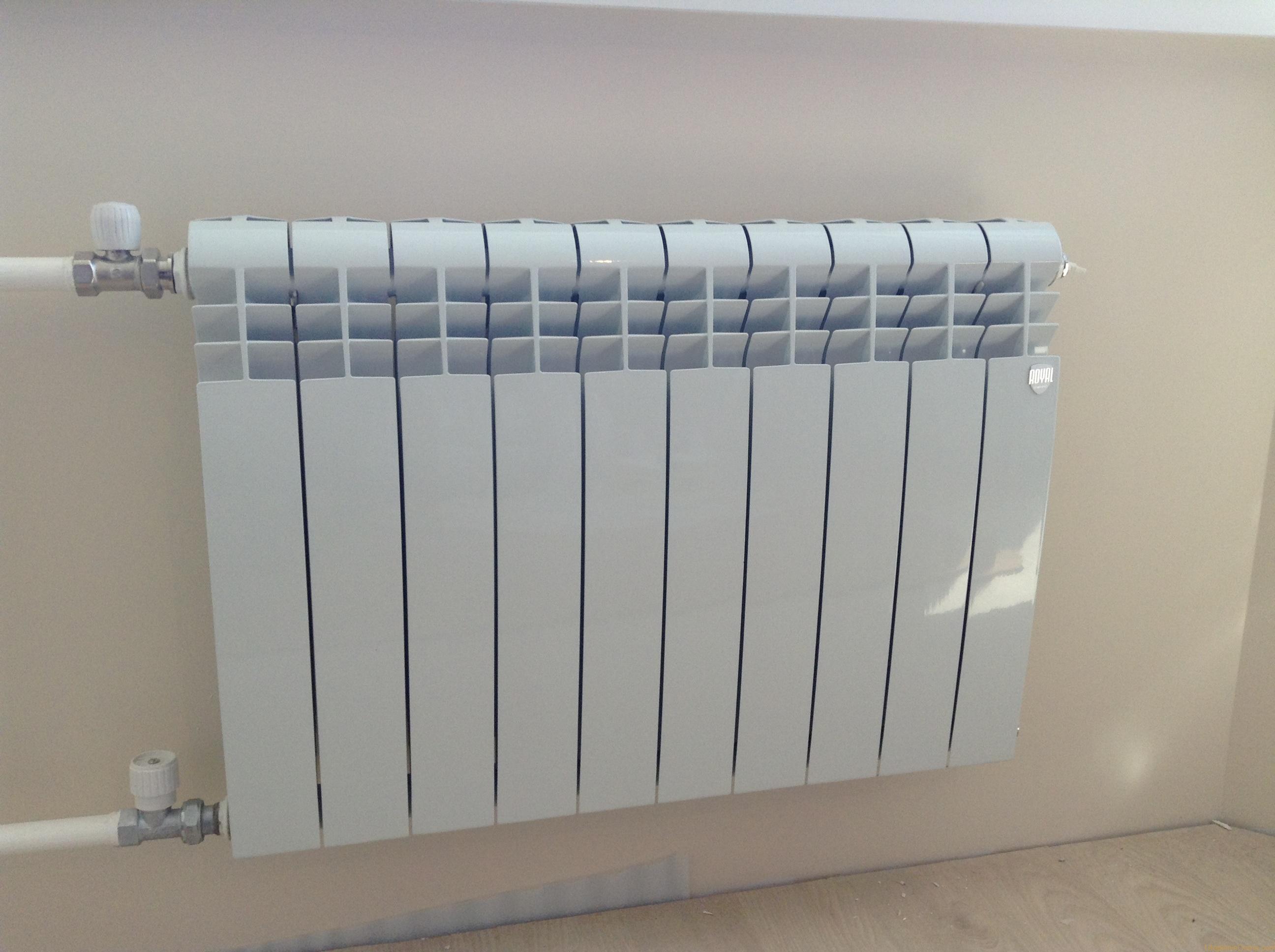 Биметаллические радиаторы отопления: технические характеристики и описание