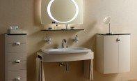 Не громоздкое решение проблемы – подвесная раковина для ванной