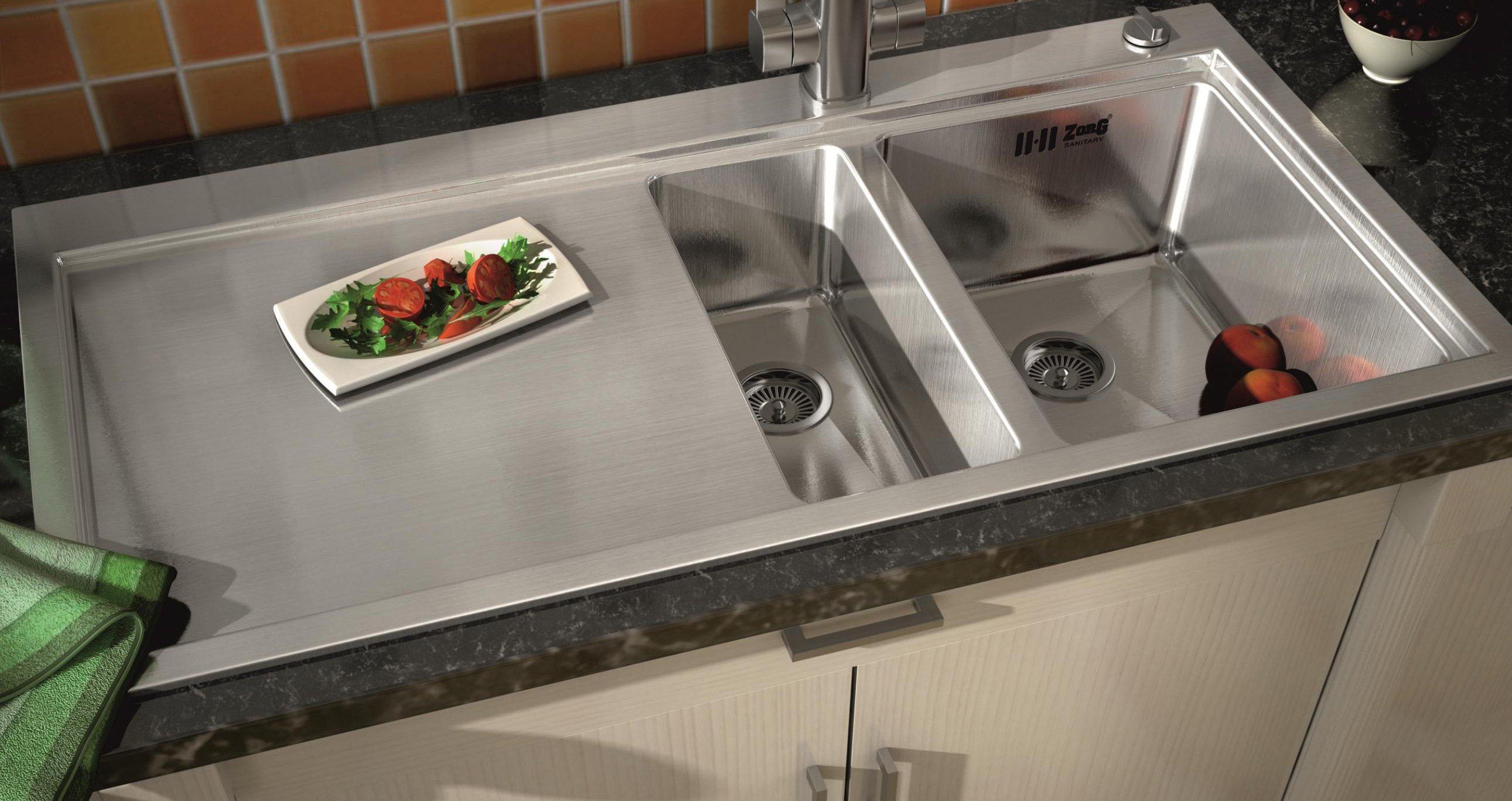 Как выбрать и установить кухонную мойку с тумбой?