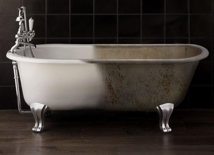 Восстановление эмали чугунной ванны своими силами