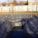 Использование геотекстиля для создания искусственного водоёма