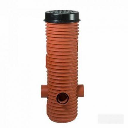 Колодец для дренажа из пластиковой трубы