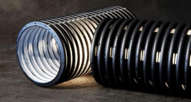 Пластиковые трубы для дренажа с повышенным сроком эксплуатации