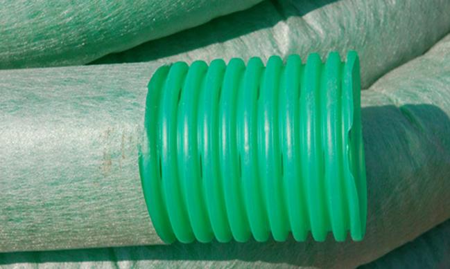 Трубы из ПНД для дренажной системы