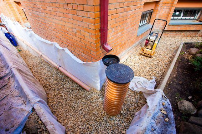 Системы дренажа и ливневой канализации