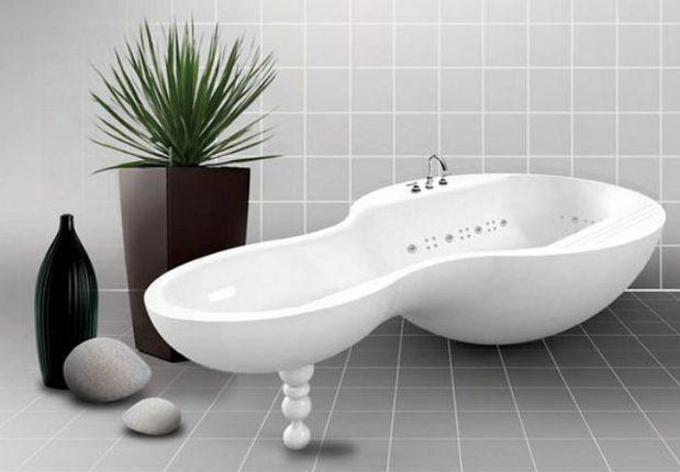 Ванна на одной ножке