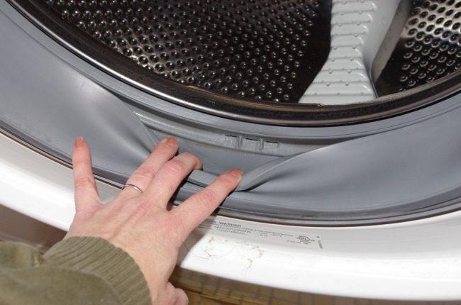 Ободок стиральной машины