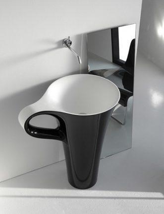 Раковина в форме чашки