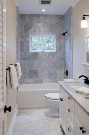 самые узкие ванные