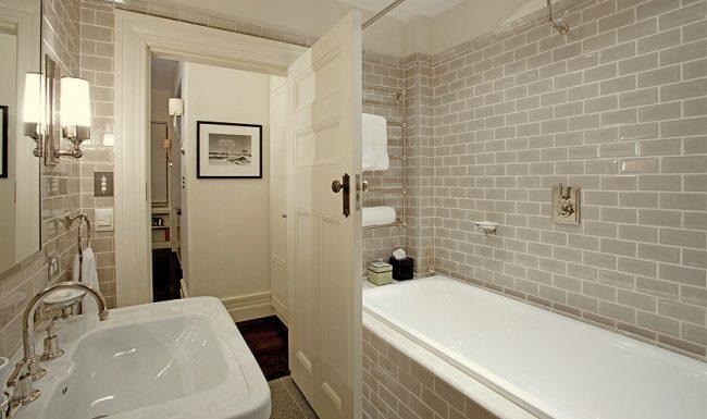 декор ванной комнаты плиткой