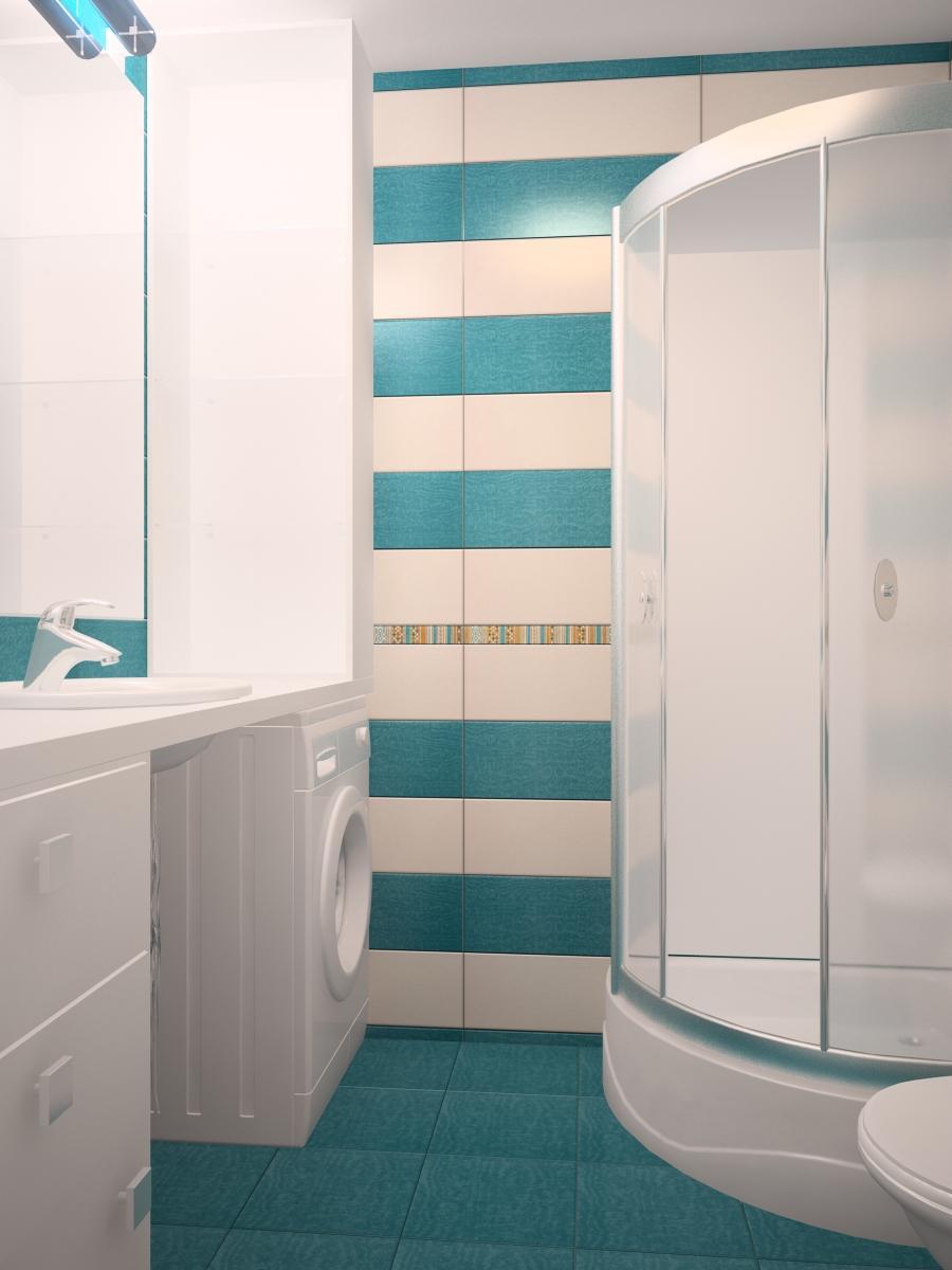 дизайн маленькой ванной комнаты с душевой кабиной идеи на фото