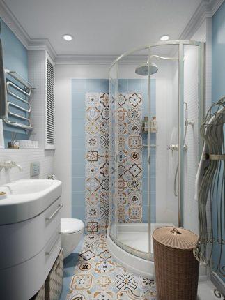 Рациональное оборудование для маленькой ванной комнаты