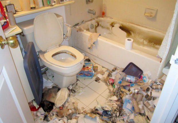 самая ужасная ванная