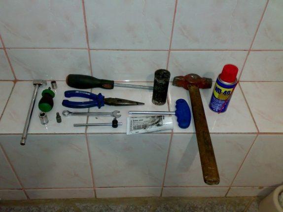 инструменты для замены подшипника в стиральной машине