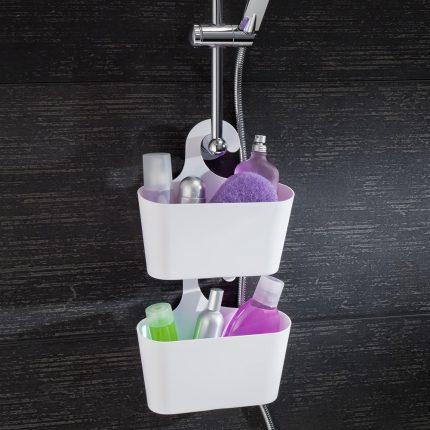 Удобные полочки для ванной