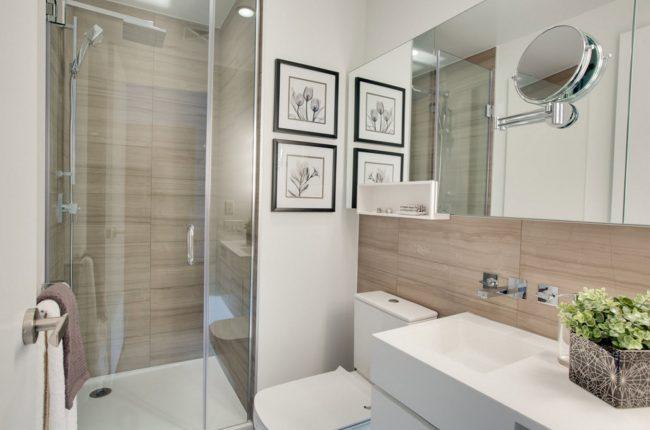 Скандинавский стиль в оформлении ванной комнаты