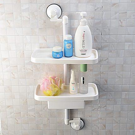 красивые полки в ванной