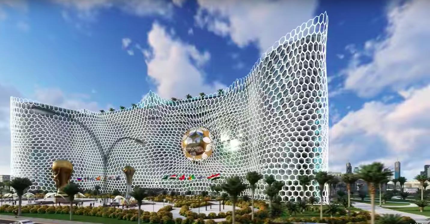 На что способны казахские Архитекторы!!!! ЧМ по футболу 2022 Катар