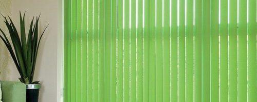 Зеленые жалюзи