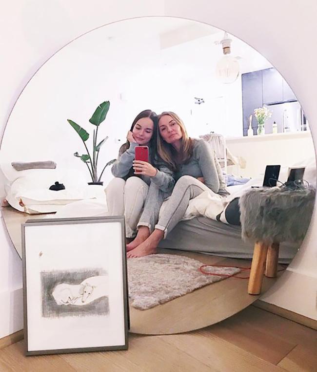 Квартира Саши Спилберг в классическом стиле