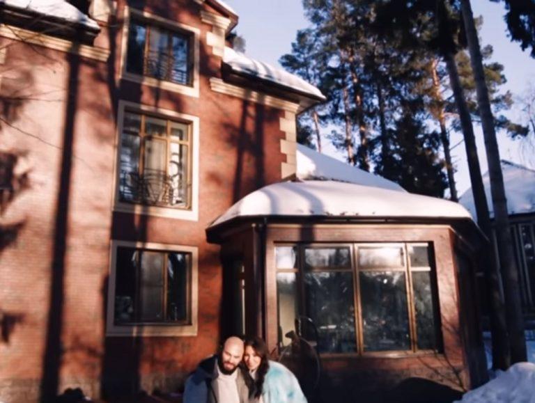 Уютный дом Джигана и Оксаны Самойловой