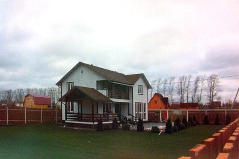Загородный дом и московская квартира Ксении Бородиной
