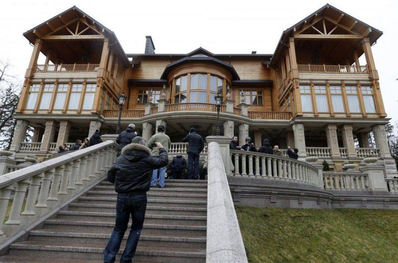 Многочисленные квартиры Виктора Януковича